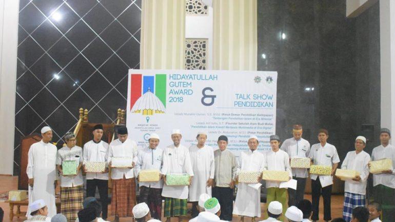 dosen hidayatullah gutem award