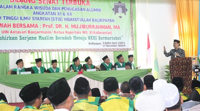 mujiburrahman wisuda 2018